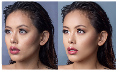high end photo retouching